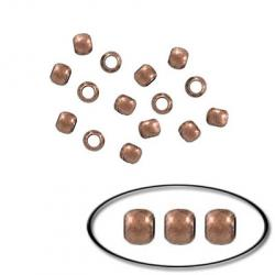 Crimp bead antique copper