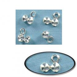 Bead tip silver plate