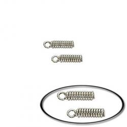 Spring cord end nickel