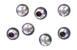 Sterling silver bead round 2mm .925