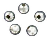Sterling silver bead round 3mm .925