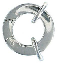 Sterling silver clasp large 21mm .925