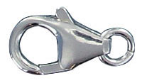Sterling silver clasp lobster 15x9mm .925