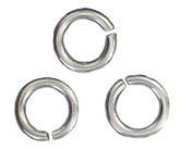 Sterling silver jumpring 5x0.7mm