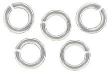 Sterling silver jumpring 5x0.9mm