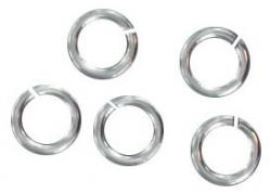 Sterling silver jumpring 6x0.7mm