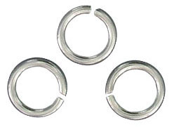 Sterling silver jumpring 7mm outside diameter .925