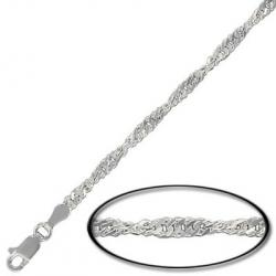 Sterling silver neckchain 45cm (18) with lobster