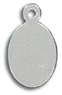 Sterling silver tag pendant
