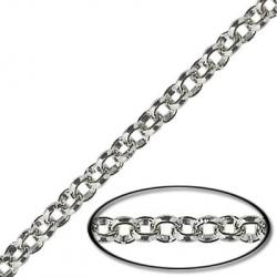 Rolo chain, stainless steel, 10 meters