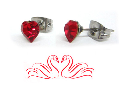 Heart Earrings Post