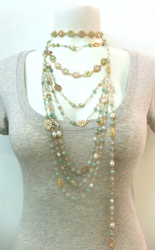 Multi Rows Necklace