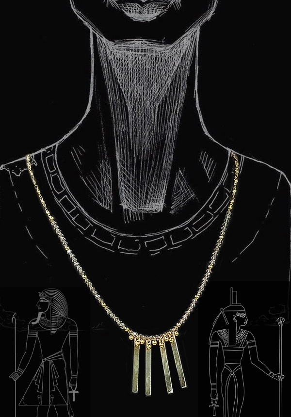 The Nile necklace