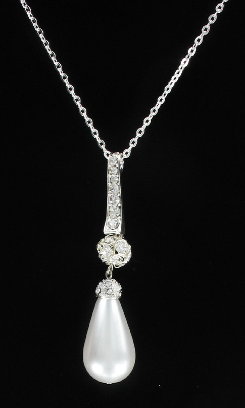 Crystal Bail Necklace