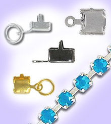 Rhinestone Chain Connectors