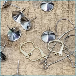 Stainless Steel Earring Findings