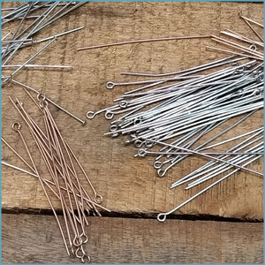Stainless Steel Eye Pins and Headpins