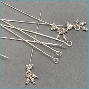 Headpins and eye pins