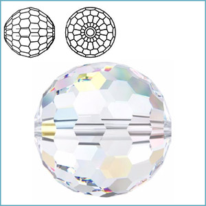 SWAROVSKI 5003 ROUND FACETED BEAD