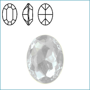 Swarovski 4100 Fancy Oval Stone