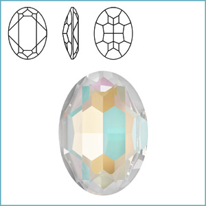 Swarovski 4127 Oval Fancy Stone