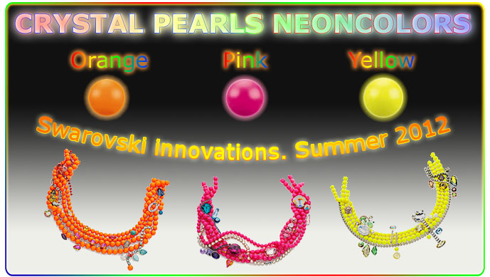 Crystal pearls neoncolors