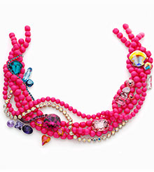Crystal Neon Pink combinations
