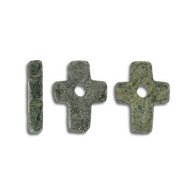 Fimo cross marble antique gray