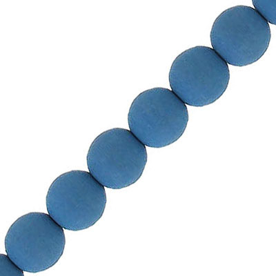 Glass beads, 8mm, round, neon, dark navy, 7 inch strands