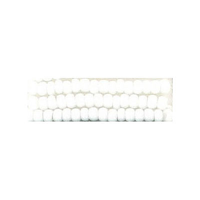 Seed beads, chalk bead loose white size 10