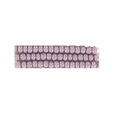 Seed beads, chalk bead mauve #10 loose