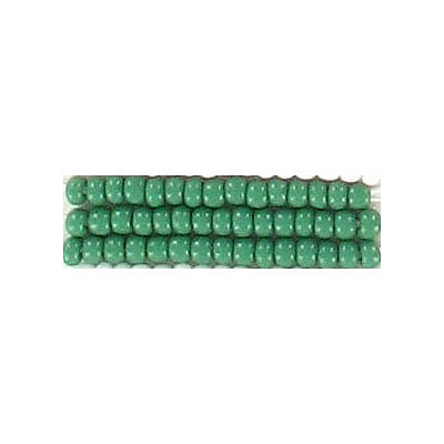 Seed beads, chalk bead green size10