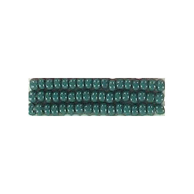 Seed beads, chalk bead loose #10 green