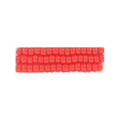 Seed beads, loose rocaille red