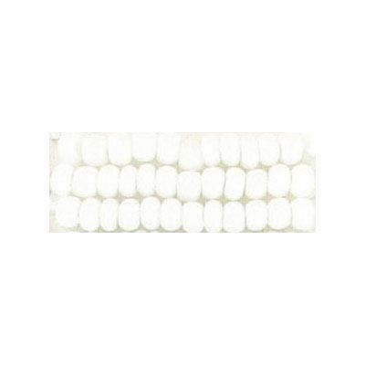 Seed beads, chalk bead #8 loose white