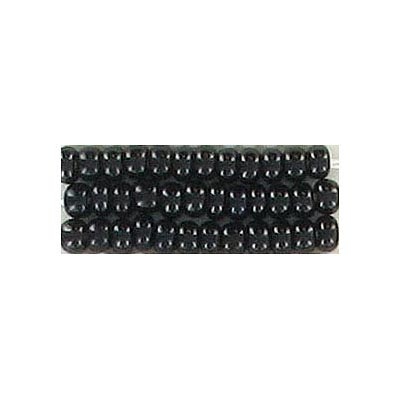 Seed beads, chalk bead #8 loose black