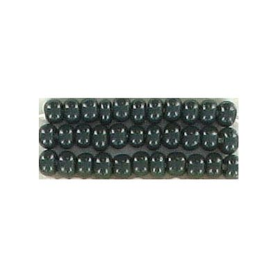 Seed beads, chalk bead loose green #8