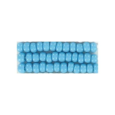 Seed beads, chalk bead #8 loose turquoise