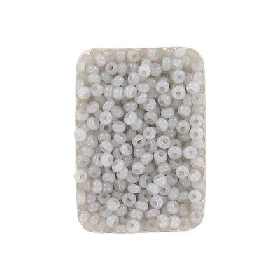 Seed beads, rocaille, 10/0, loose, alabaster solgel taupe