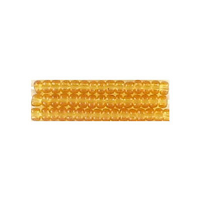 Seed beads, rocaille loose transparent  gold