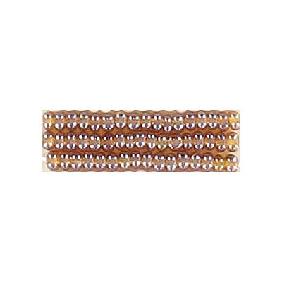 Seed beads, rocailles bead topaz