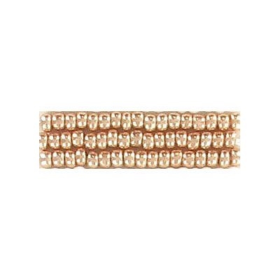 Seed beads, rocaille loose copper