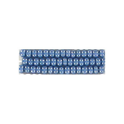 Seed beads, rocaille luster blue