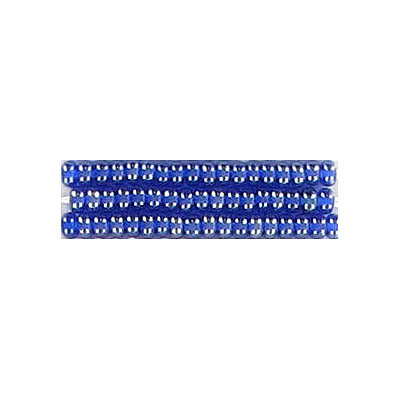 Seed beads, rocailles bead dark blue
