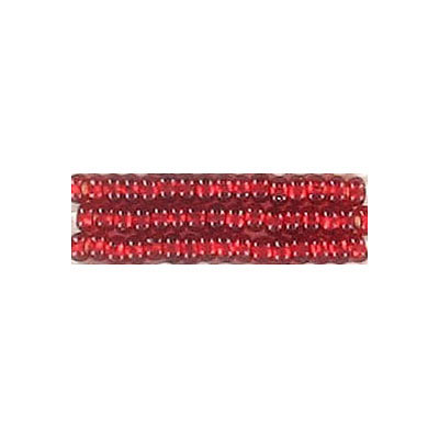 Seed beads, rocaille bead loose red size 10