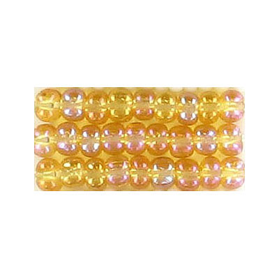 Seed beads, rocaille bead loose ab  light colorado  topaz