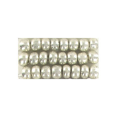 Seed beads, rocaille bead silver #6 loose