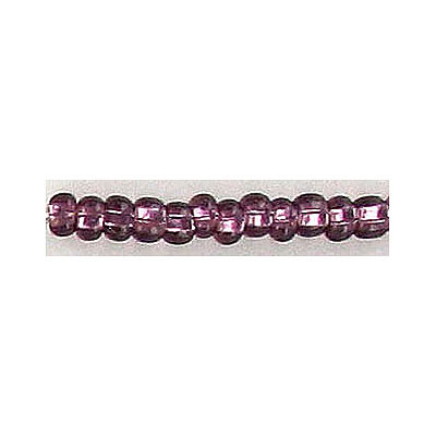 Seed beads, rocailles amethyst