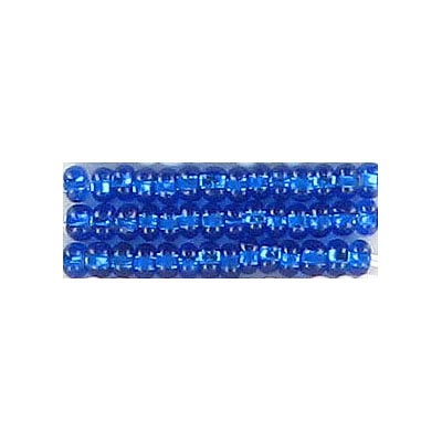 Seed beads, rocaille bead blue #8 loose