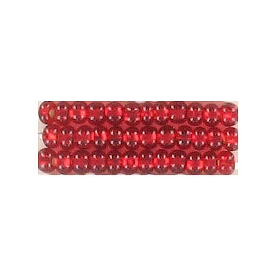 Seed beads, rocaille bead loose red